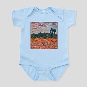 Monet - Poppy Field Infant Bodysuit