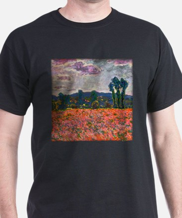 Monet - Poppy Field T-Shirt