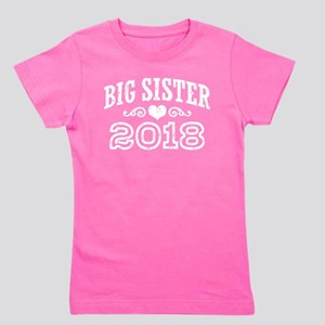 Big Sister 2018 Girl's Tee T-Shirt