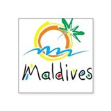 Maldives Stickers