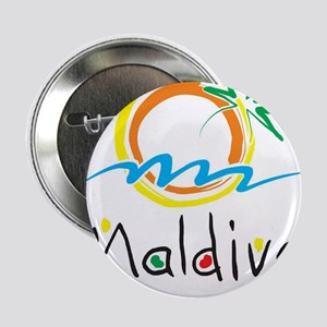 "Maldives 2.25"" Button"