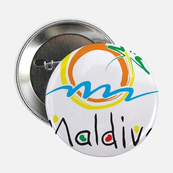 """Maldives 2.25"""" Button"""
