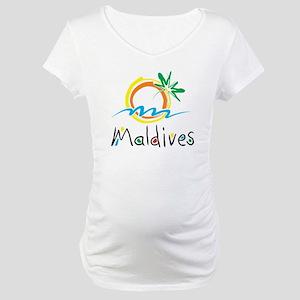 Maldives Maternity T-Shirt