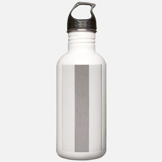 Manly Gray stripes Water Bottle