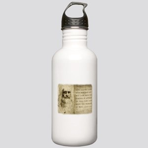 Da Vinci Animal Quote Stainless Water Bottle 1.0L