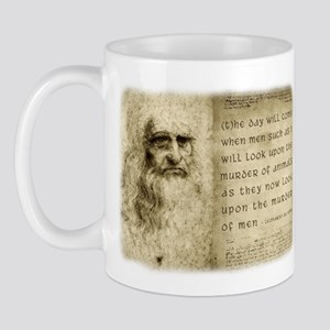Da Vinci Animal Quote Mug