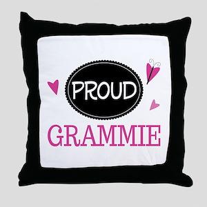 Proud Grammie Throw Pillow