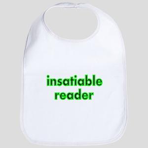 insatiable reader Bib