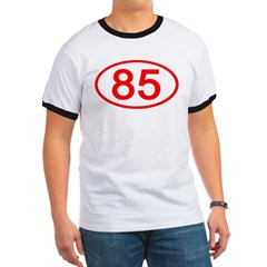 Number 85 Oval T