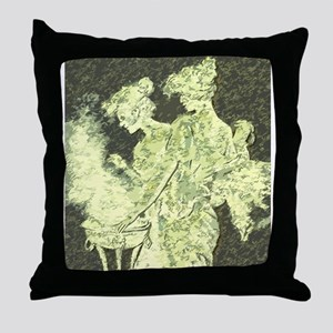 Its all greek to me Throw Pillow