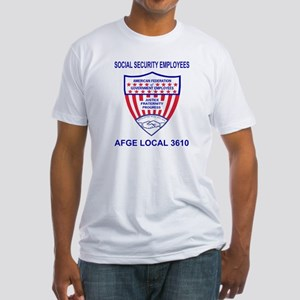 Fitted AFGE Shirt For AFGE Local 3610