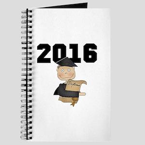 Boy Graduate 2016 Journal