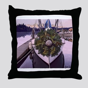 Harbor Holiday Throw Pillow