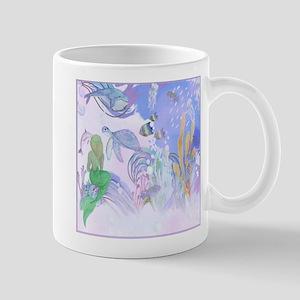 Secret World Under the Sea Mugs