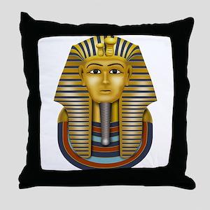 Egyptian King Tut Throw Pillow
