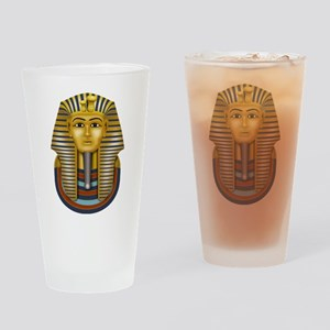 Egyptian King Tut Drinking Glass