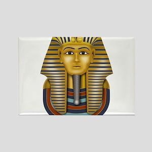 Egyptian King Tut Rectangle Magnet