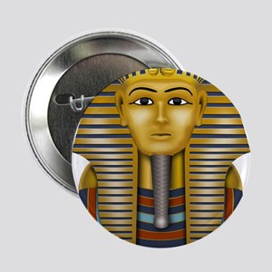 "Egyptian King Tut 2.25"" Button"