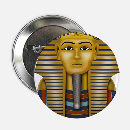 "Egyptian King Tut 2.25"" Button"
