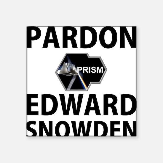 Pardon Edward Snowden Sticker