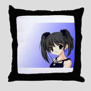 Japanimation Throw Pillow