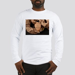 Copperhead Snake Long Sleeve T-Shirt
