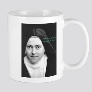 Saint Theresa of Lisieux The Way of Love Mug