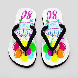 CHARMING 80TH Flip Flops