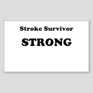 Stroke Survivor Strong Sticker