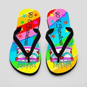 STYLISH 90TH Flip Flops