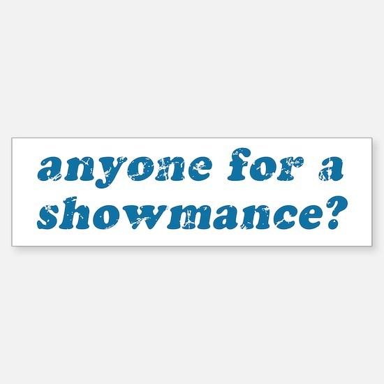 Anyone for a Showmance? Bumper Bumper Bumper Sticker