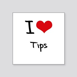 I love Tips Sticker