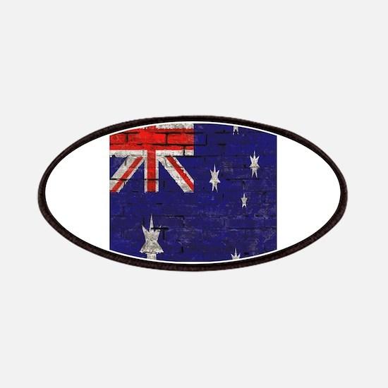 Australian Flag Twin Duvet cover Patches