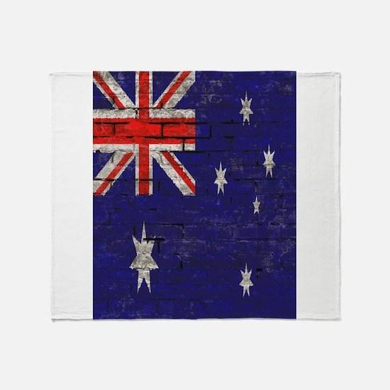 Australian Flag Twin Duvet cover Throw Blanket