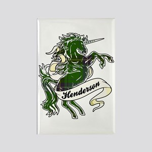 Henderson Unicorn Rectangle Magnet