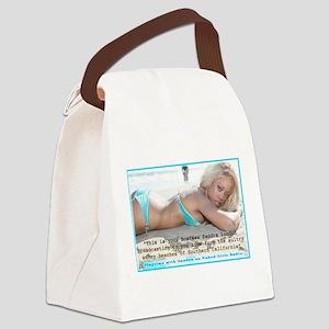 Sandra London Canvas Lunch Bag