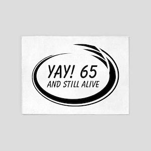 Yay! 65 Alive 5'x7'Area Rug