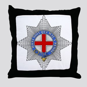 Garter (England) Throw Pillow