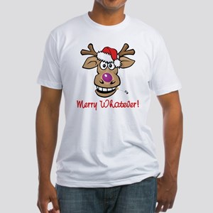 Merry Whatever Fitted T-Shirt
