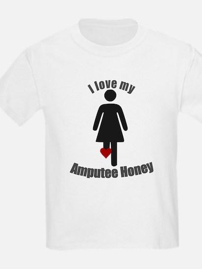 I Love my Amputee Honey T-Shirt