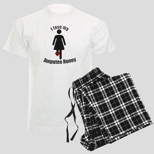 49abe59e2 I Love my Amputee Honey Men's Light Pajamas