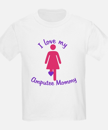 I Love my Amputee Mommy T-Shirt