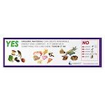 """Yes/No"" Food Scrap Sticker (Bumper 10 p"