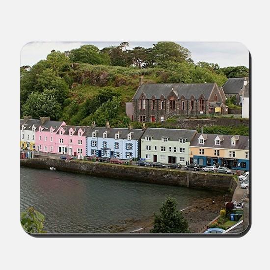 Portree, Isle of Skye, Scotland Mousepad