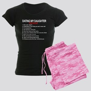 Dating My Daughter - The Rules Women's Dark Pajama