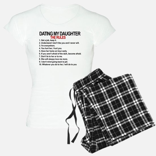 Dating My Daughter - The Rules Pajamas