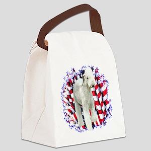 BedlingtonPatriot Canvas Lunch Bag