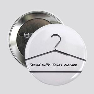"""Stand with Texas Women 2.25"""" Button"""