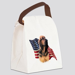 BloodhoundFlag Canvas Lunch Bag