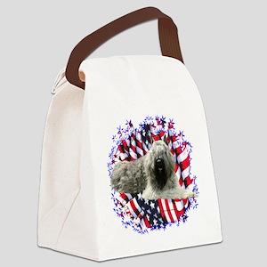 BouvierPatriot Canvas Lunch Bag